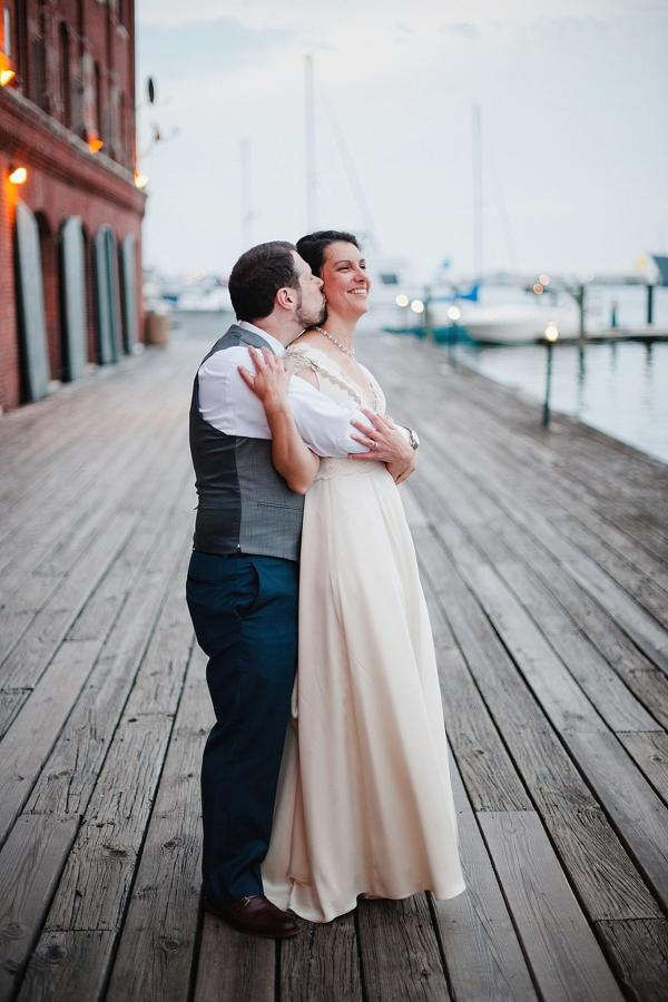 Henderson's Wharf Bride and Groom Waterfront Photo 3 Captured by Kirsten Marie Photography.jpg