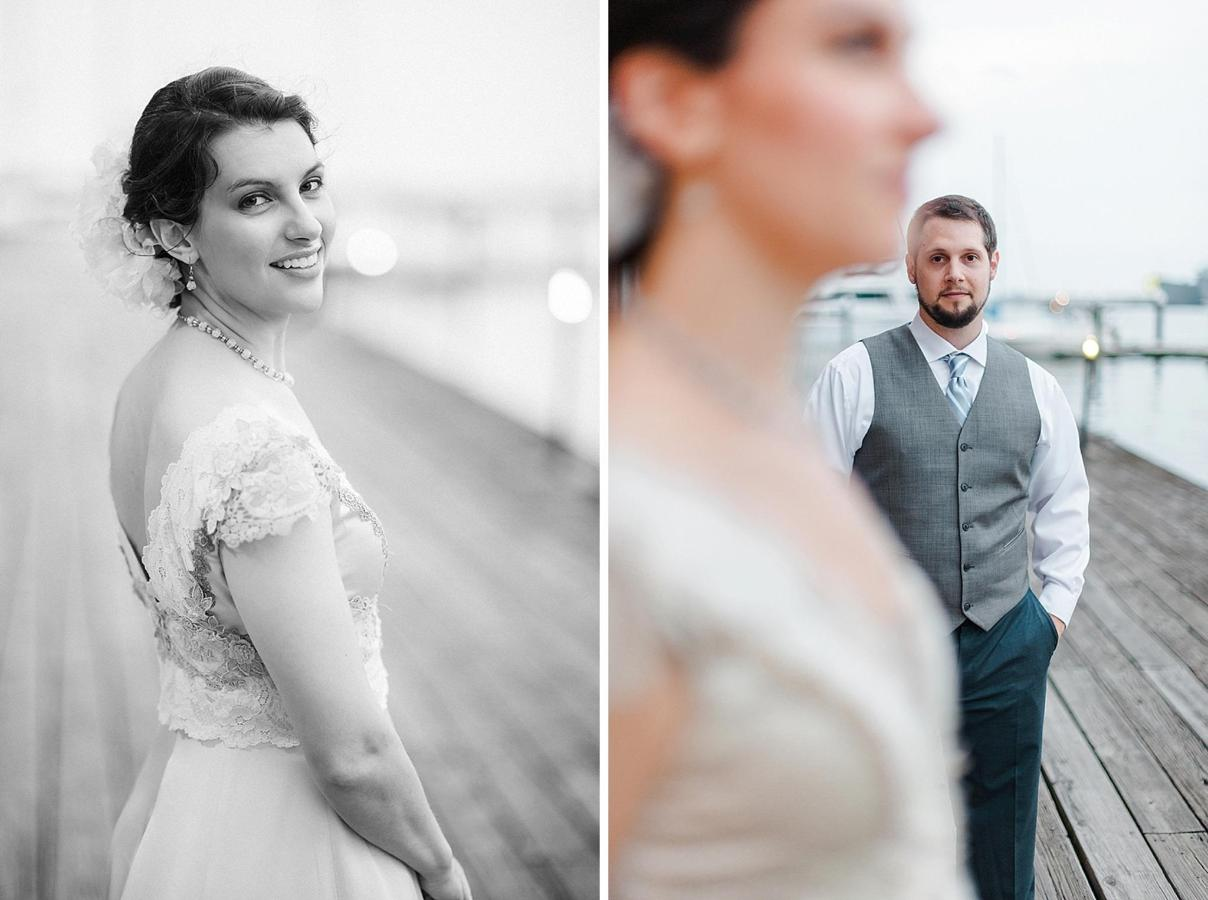 Henderson's Wharf Bride and Groom Waterfront Photo 4 Captured by Kirsten Marie Photography.jpg