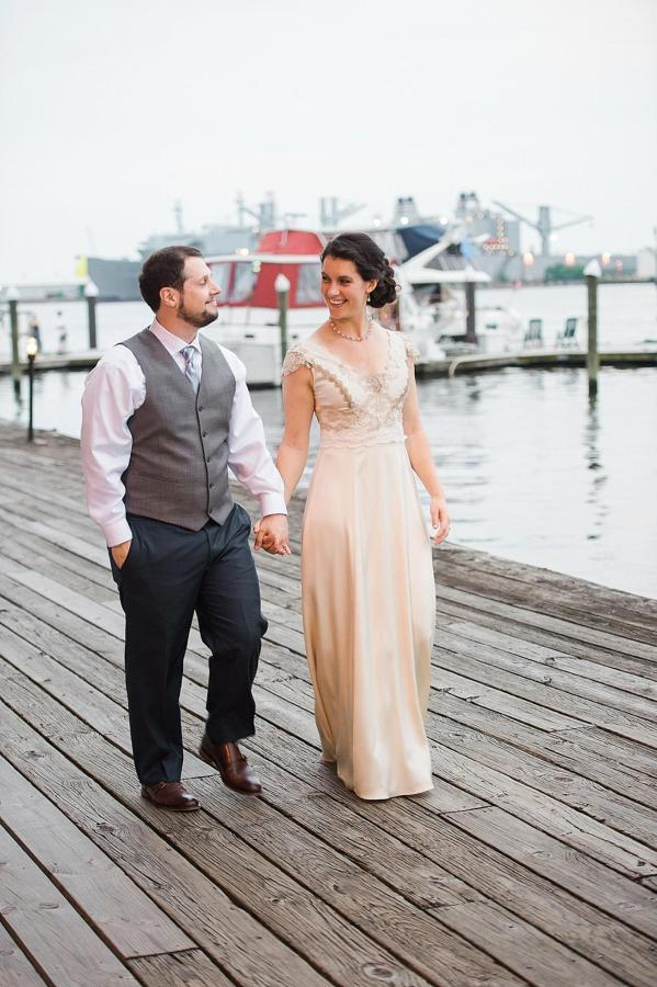 Henderson's Wharf Bride and Groom Waterfront Photo 5 Captured by Kirsten Marie Photography.jpg