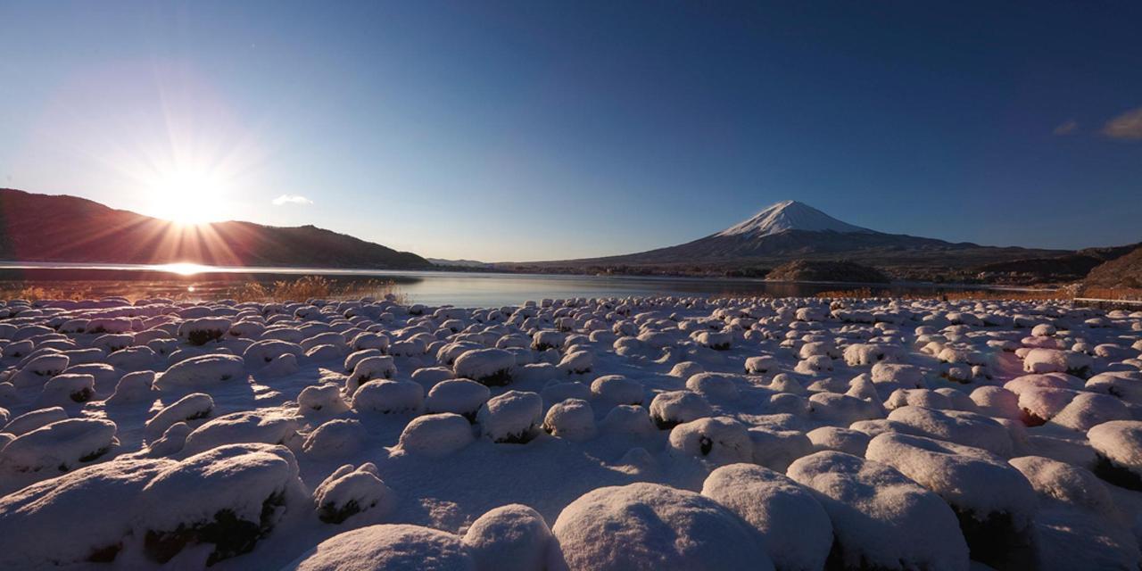 【Winter】 Von der anderen Seite von Kawaguchiko