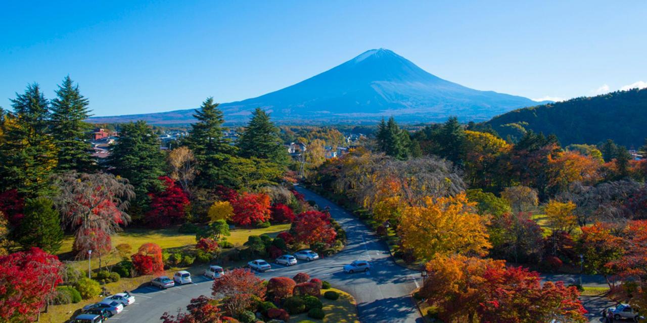 【ฤดูใบไม้ร่วง 】Mt ฟูจิในฤดูใบไม้ร่วง