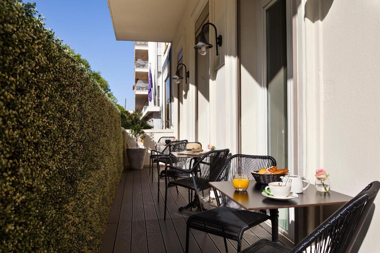 Terrasse Lobby Hotel La Malmaison Nice