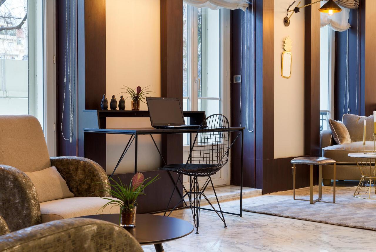 Lobby Hotel La Malmaison Nice
