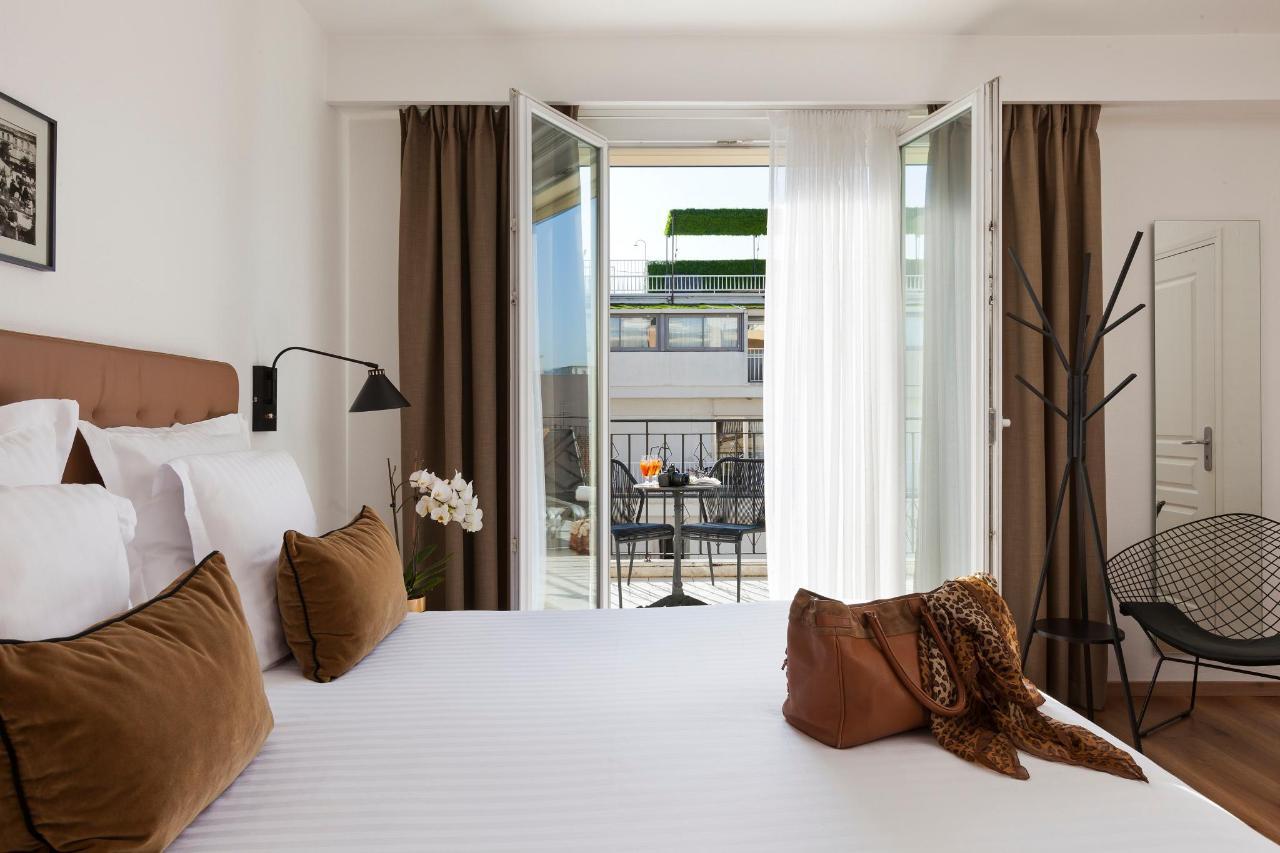 Chambre Deluxe Hotel La Malmaison Nice