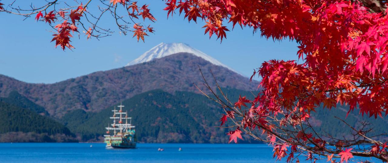 【Autumn】Mt.Fuji & Pirate Ship