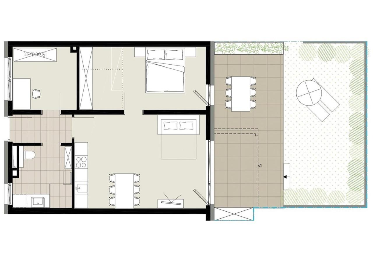 Plan apartment