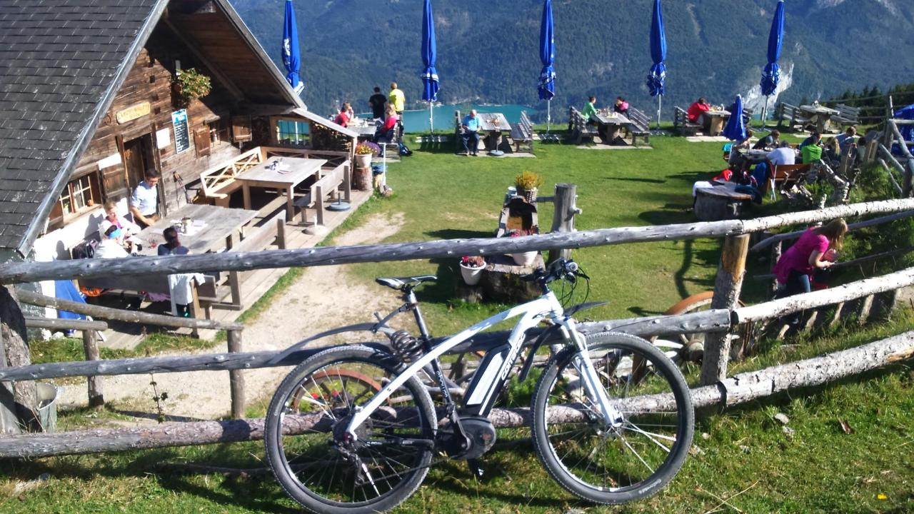 Bike ride to the Lerchenhütte - Zwölferhorn