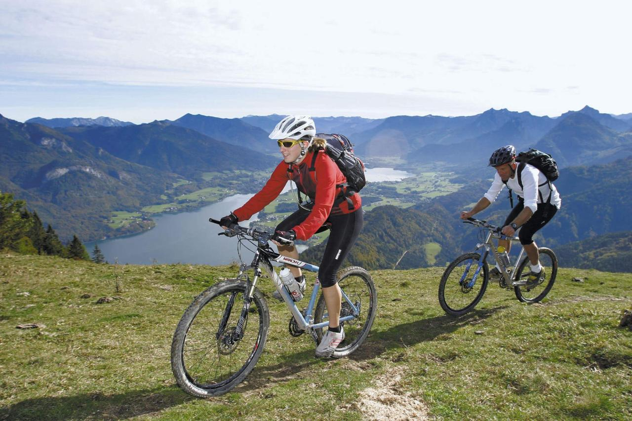 Montainbiking บนZwölferhorn