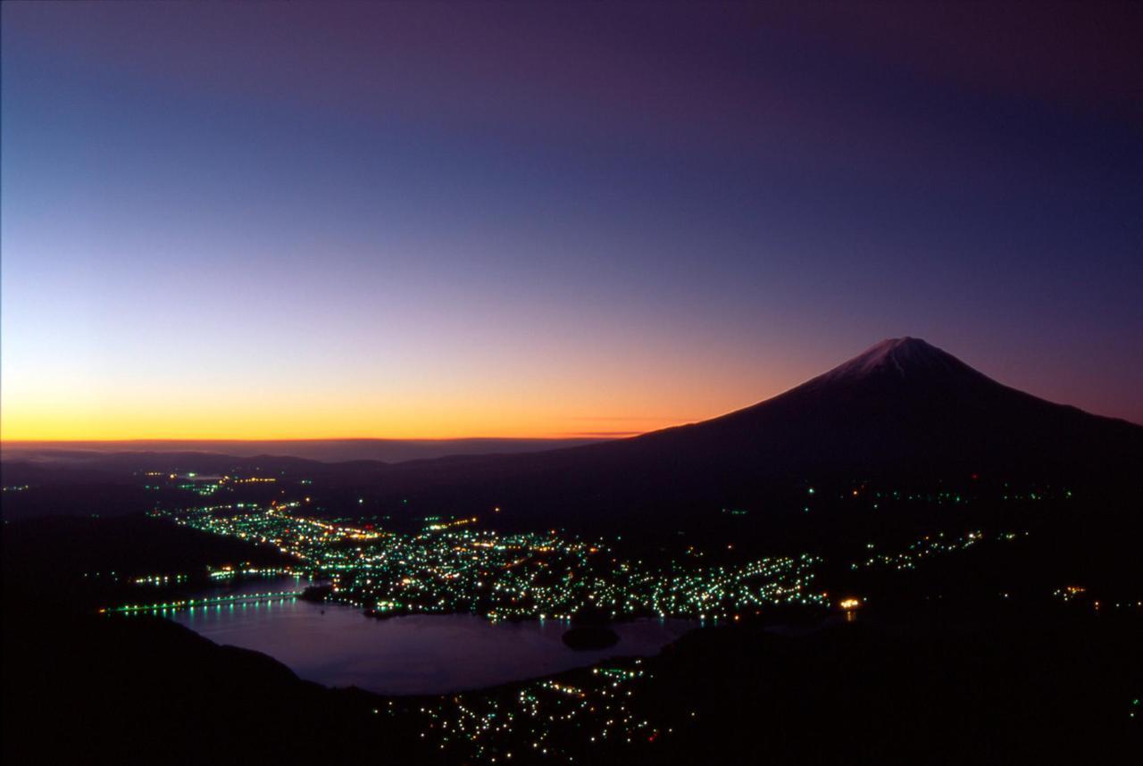 峠から富士山