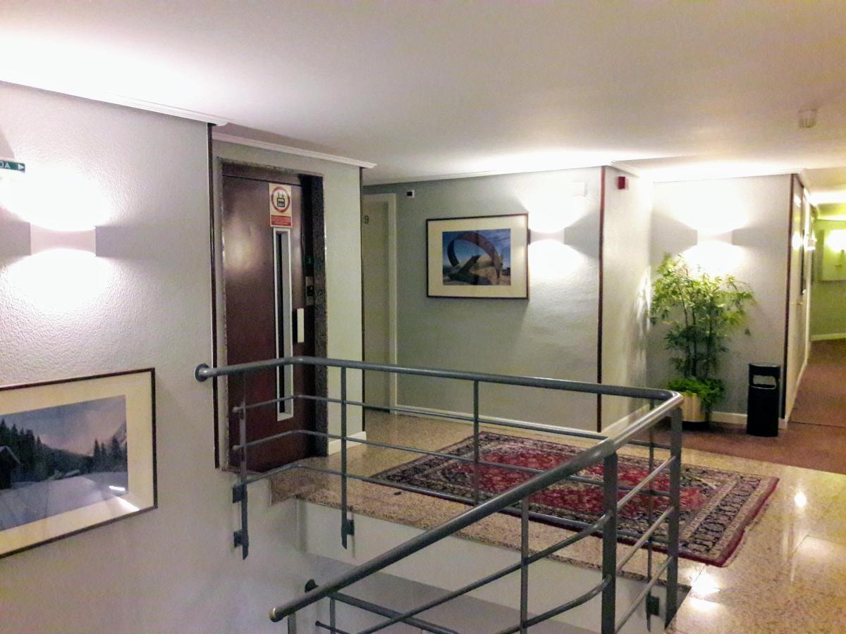 Elevator and corridor