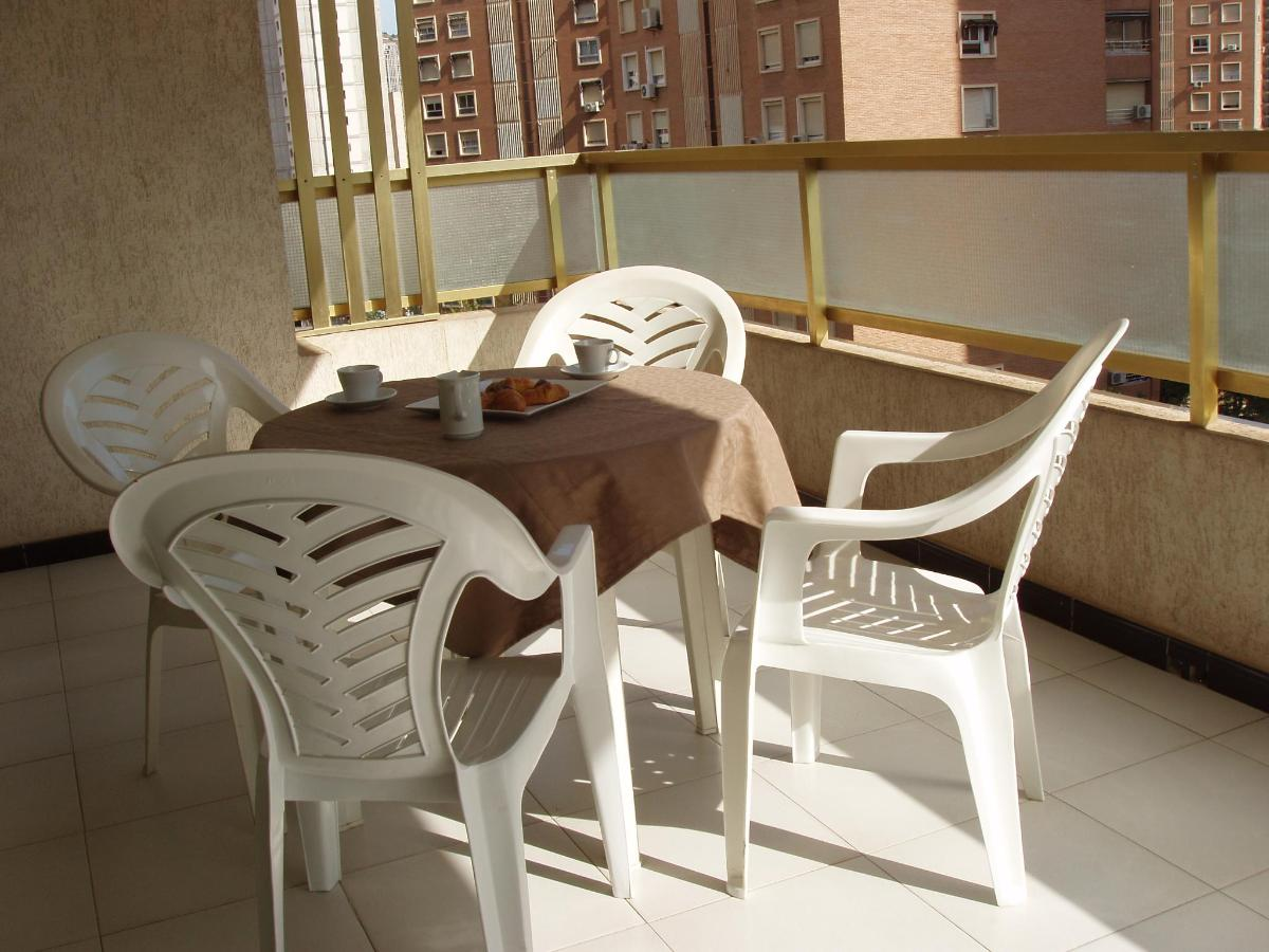 Private terrace Maria Victoria Benidorm