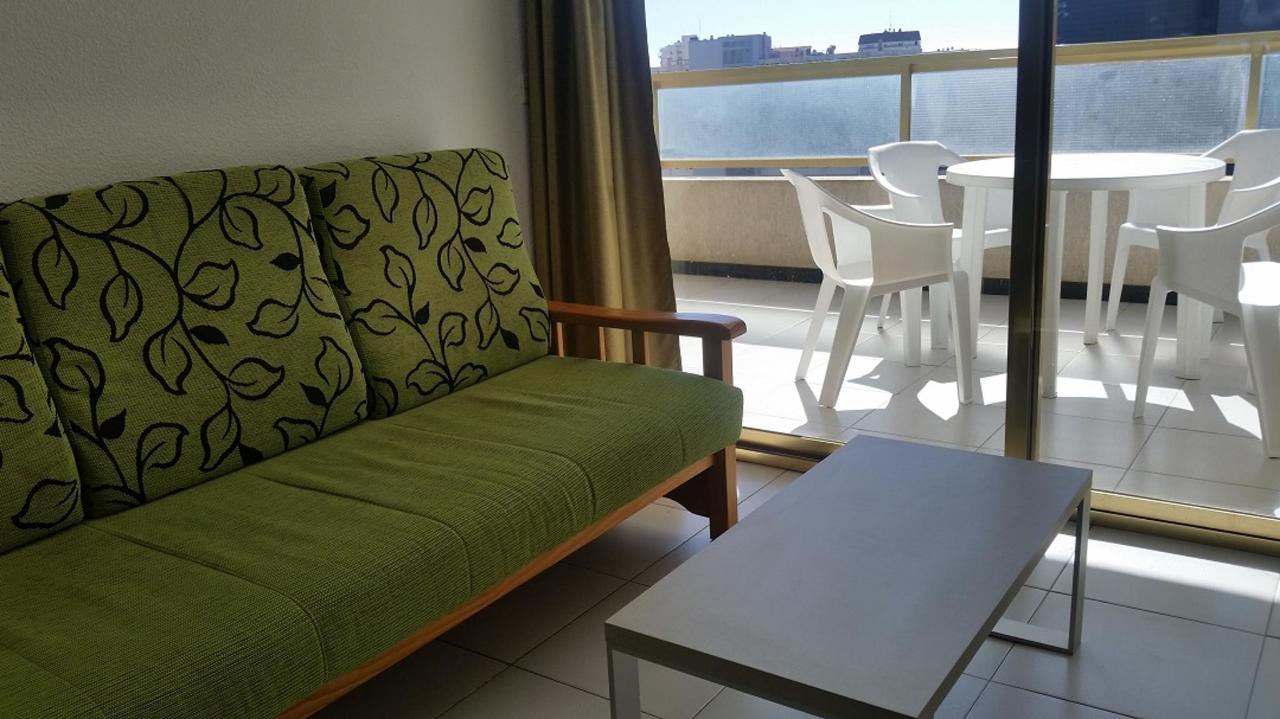 Salon appartement met een slaapkamer Maria Victoria Benidorm