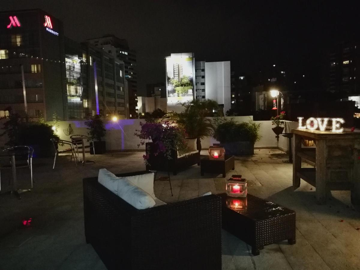 Romantic nights at the Aqua 360º hotel Terrace