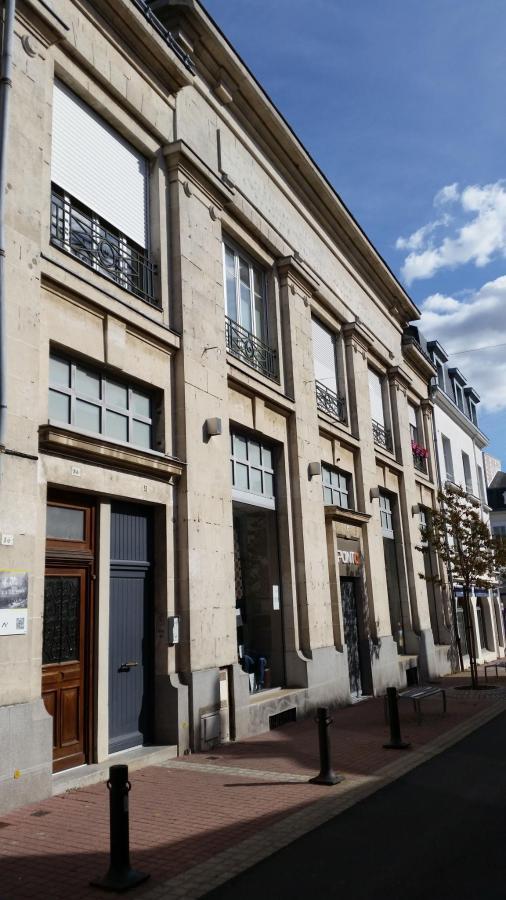 Facade hotel des pénates de Loire au 34 rue d'Anjou à ANCENIS Loire Atlantique 44150