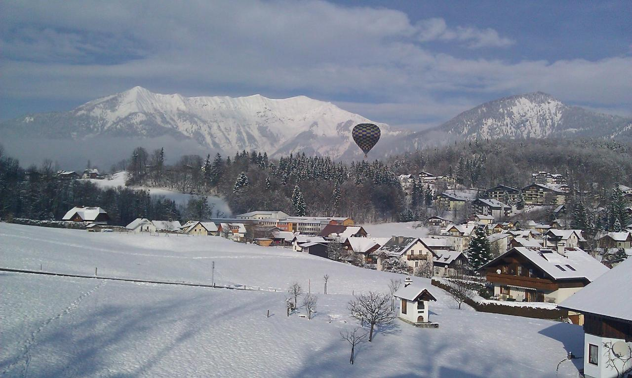 Balloons over Bad Ischl