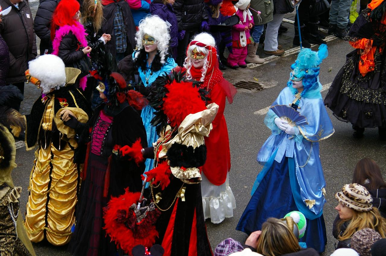 Fasching Parade Bad Ischl