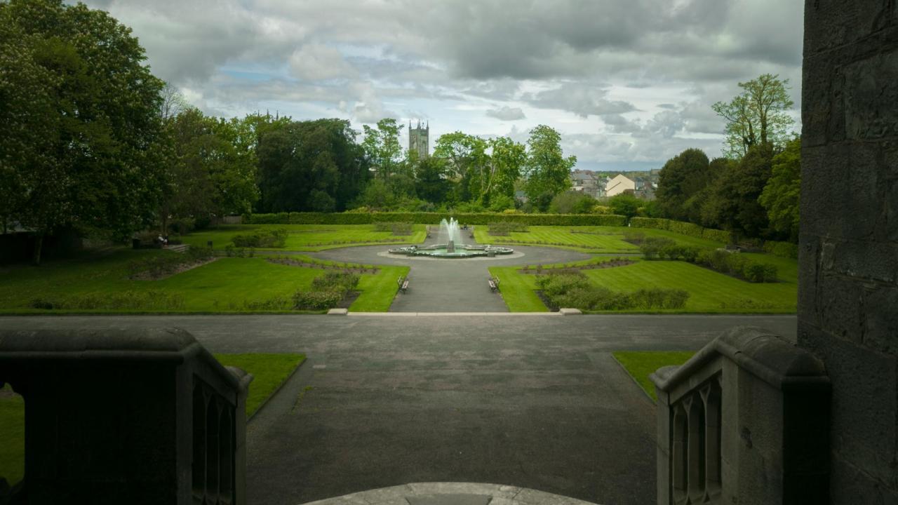 Rose Garden KilkennyCastle