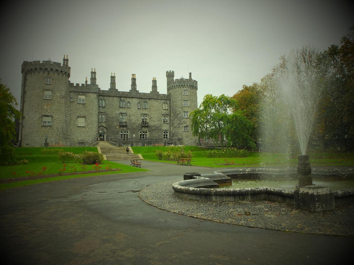 Kilkenny Castle Rose Garden.