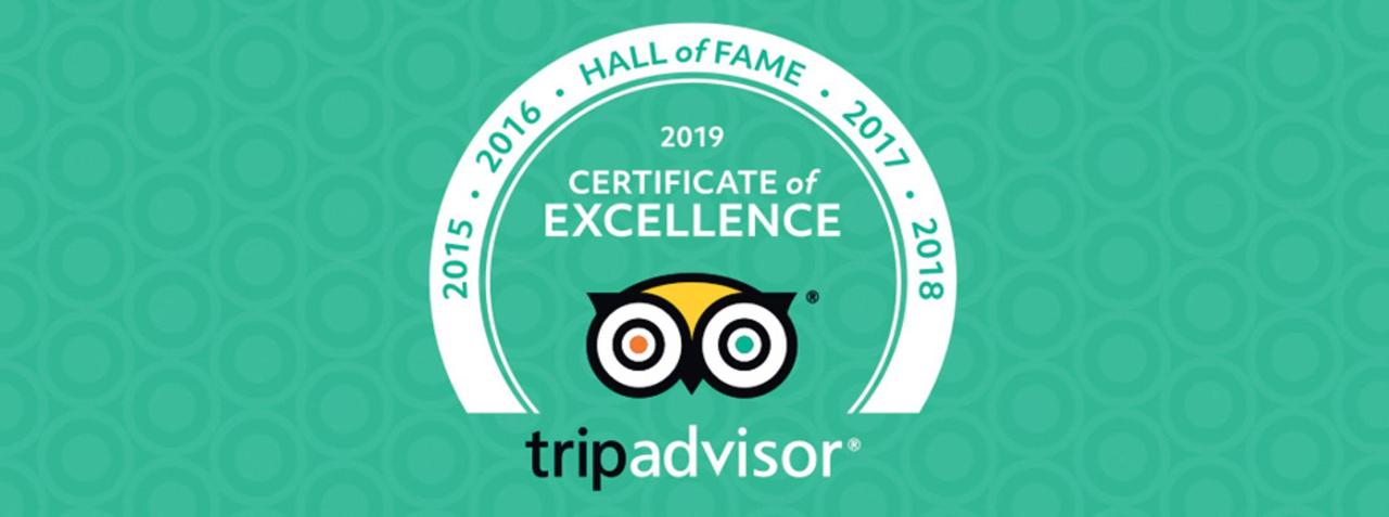 Hall of Fame in Trip Advisor