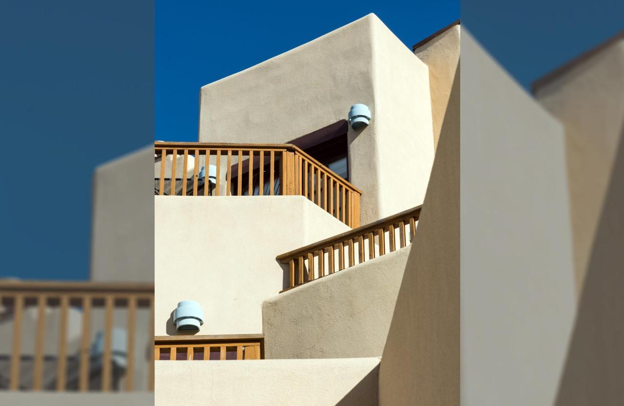 Quintessential Taos architecture
