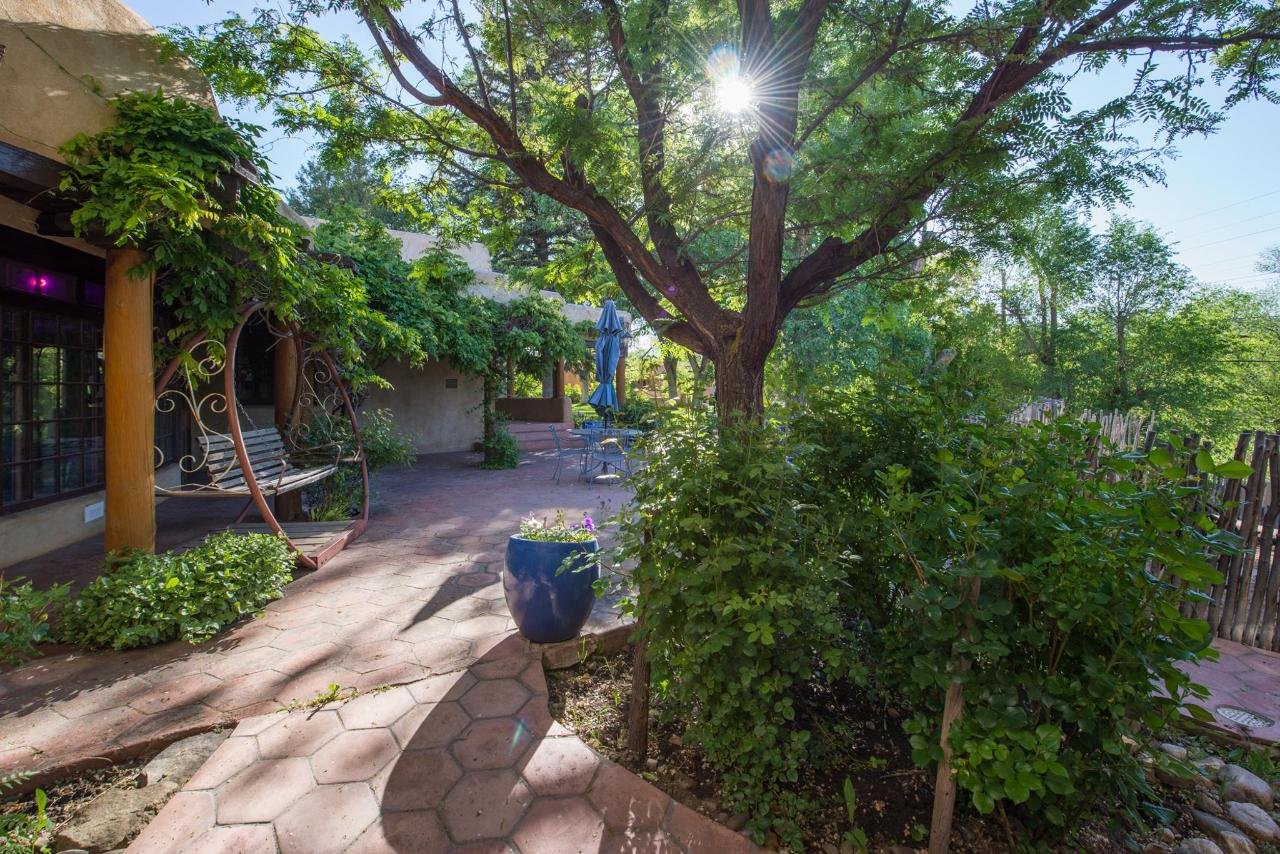 The Inn is an oasis just a few blocks from Taos Plaza