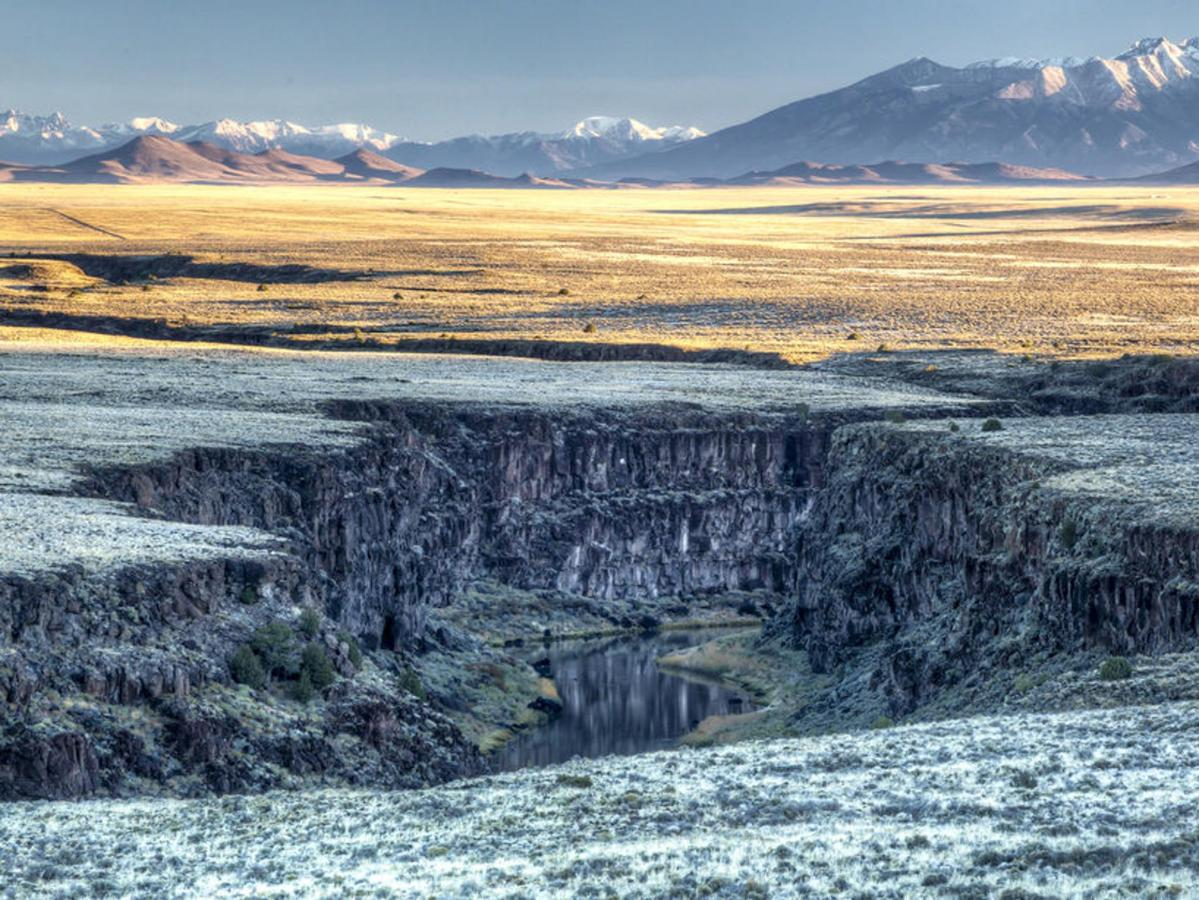 Whether summer or winter, the Rio Grande Gorge is a sight to see!