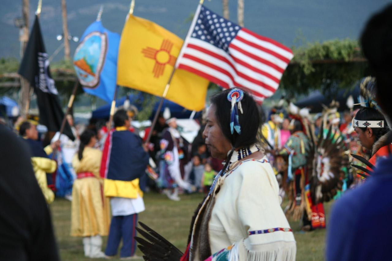 Taos Pow Wow is an annual gathering celebration at Taos Pueblo each July