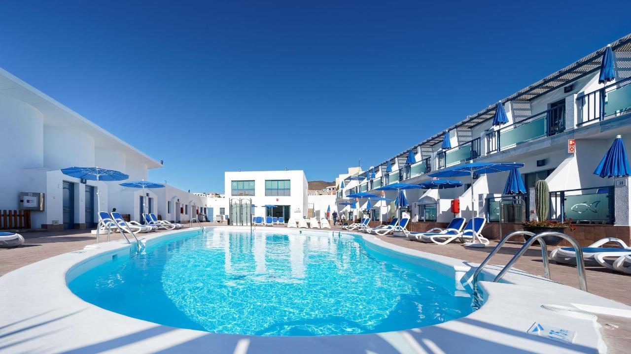 Pool Relaxing Area Outdoor Igramar Morro Jable