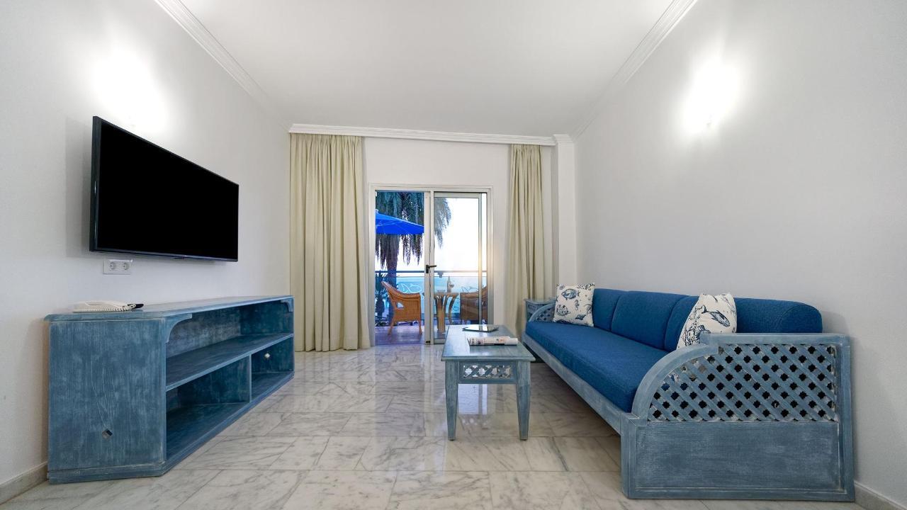 Lounge Living room Flat-TV Studio Igramar Morro Jable