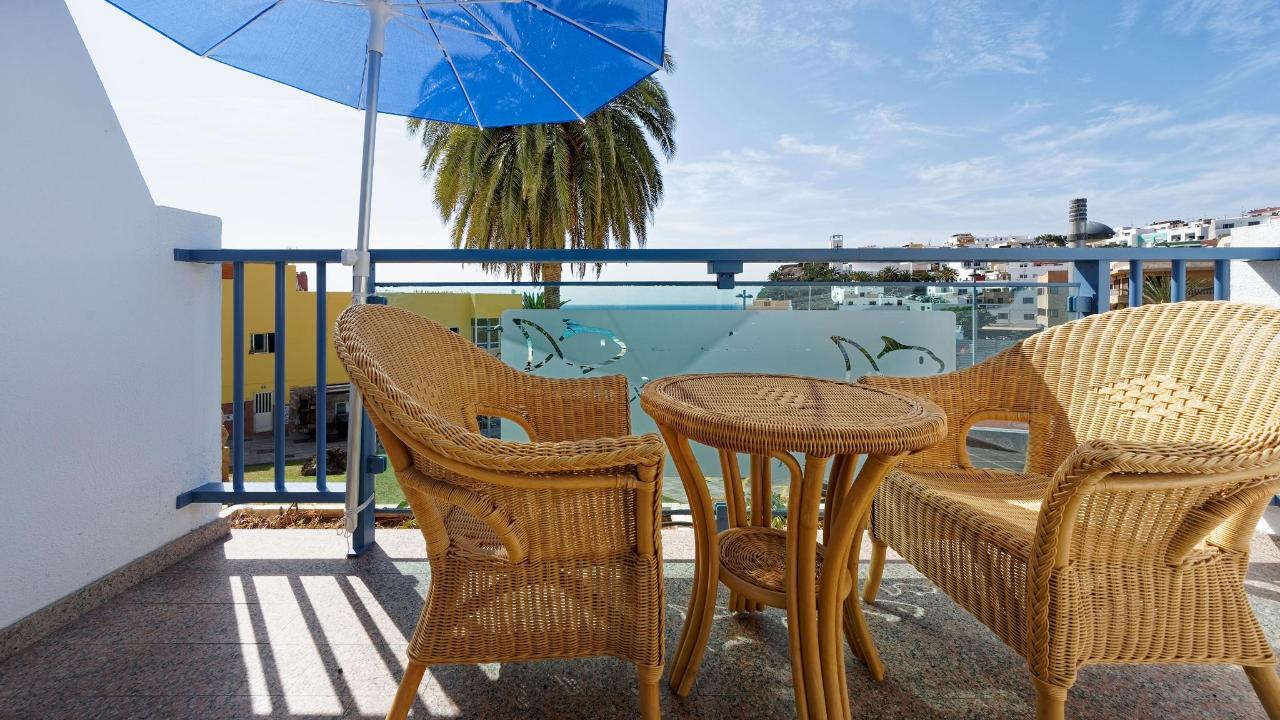 Balcony Seaview Morrojable Studio Igramar Morro Jable
